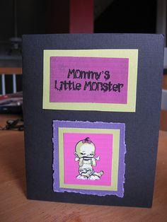 Mummy's Little Baby invite