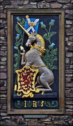 Heraldic Panel at Entrance to Holyrood Palace