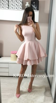 Charming Short Prom Dress,Stretch Satin Cocktail Party Dress,Sleeveless homecoming dress sold by KProm. Shop more products from KProm on Storenvy, the home of independent small businesses all over the world. Hoco Dresses, Homecoming Dresses, Sexy Dresses, Casual Dresses, Fashion Dresses, Party Dresses, Summer Dresses, Wedding Dresses, Occasion Dresses