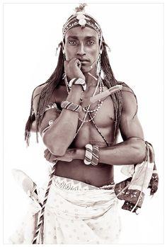 Beautiful North Kenyan man, photographed by John Kenny