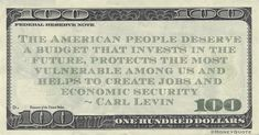 """Carl Levin Money Quote saying the voters deserve budgets that invests in them and their communities. Carl Levin said:   """"The American people deserve a budget that invests in the future, protects the most vulnerable among us and helps to create jobs and economic security"""" -- Carl Levin  #RIPCarlLevin #CarlLevin #MoneyQuote  #budget #carllevin #economic #invests"""