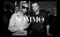 Music Producer #Pharrell and Designer #KrisVanAssche at the @Dior Homme Miami Boutique Launch Party #sommovita