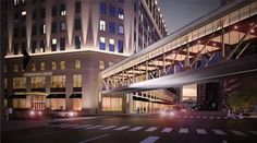 The summer of 2013 holds the possibility of work on a skywalk to the Horseshoe Casino! #Casino #NightLife #CLE