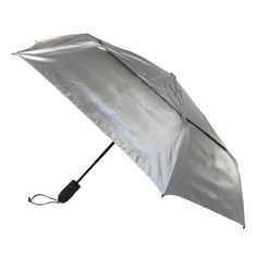 Protect yourself from the beaming sun with this UPF 50+ umbrella. The hot sun will reflect off the top of the canopy and keep you well shielded. The vents in the umbrella will also protect you from the wind. The slots allow the wind to flow through it and prevent your umbrella from getting ripped or blown inside out. The auto open and close feature on the handle makes it easier to extend and retract, especially when getting in and out of a car.