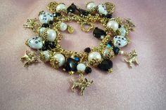 CHIHUAHUA  brd14  Dog Themed  Bracelet  Handmade by HOBBYHORSELADY, $47.90