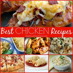 | Best Chicken Dinner Recipes | http://sewlicioushomedecor.com