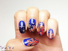 BASE COAT TOP COAT - RED CORAL REEF - P.O.T.W. - O.P.I. - road house...