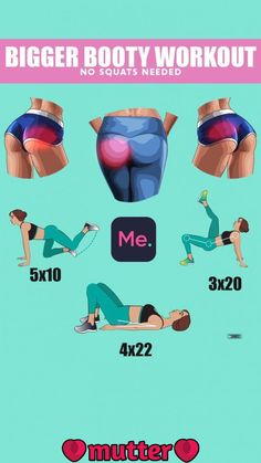 Bigger Booty Workout   Bigger Booty Workout! You need just 28 days to make the body absolutely fit!!! Exercises will help you to reduce hip-dips in 1 month!!! Fitness Challenge below makes your dream come true!!! #fatburn #burnfat #gym #athomeworkouts #exercises #weightlosstransformation #exercise..