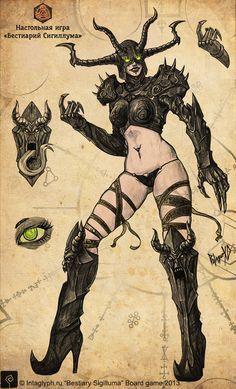 Illesebra, Temptress