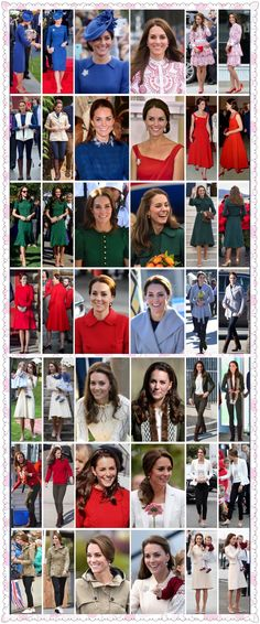 The Royal Tour 2016 Canada. Everything Kate wore on Royal tour!!