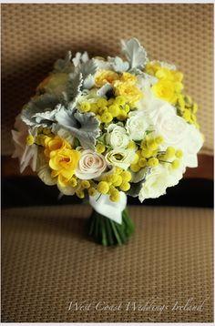 Yellow + Grey Bouquet