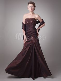 milanoo kleid in braun