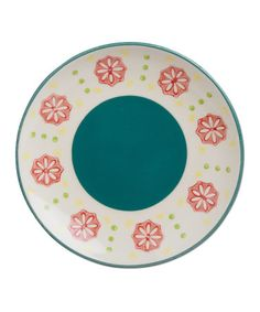 Love this Teal Tidbits Plate on #zulily! #zulilyfinds