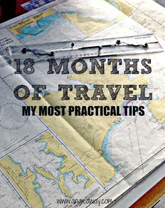 Practical travel tips from 18 months of nomadic living. #Travel #Nomadic #Tips