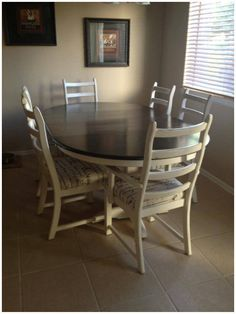 Sincerelydanielleshunkblogspot Facebook Sincerely Danielle Shunk Refinished Dinning Table Painted Room TablesDining RoomsColorado