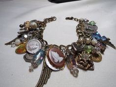 Angels and Saints  Vintage  rhinestone by NostalgiaGirlDesigns, $45.00