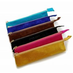 arenot CRAFTWORK PRODUCTS(クラフトワーク プロダクツ)SUEDE FASTENER PEN CASE pink(スエード ファスナーペンケース ピンク)