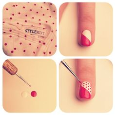 Cool Nail Art Tutorial http://www.designsnext.com/?p=31839