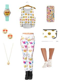 """"""" fashion287 """" by veronicaleigh777 on Polyvore featuring Casetify, Kate Spade and Missguided"""