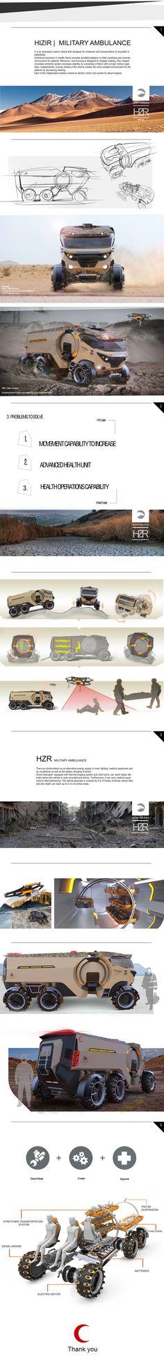 Military Ambulance | HIZIR on Behance