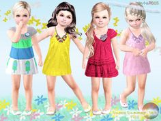 Sunny Summer Set by Natef005 http://www.thesimsresource.com/downloads/1201554