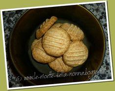 Le Ricette della Nonna: Biscottini al burro con zucchero di canna