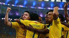 8avos: Colombia 2 - Uruguay 0