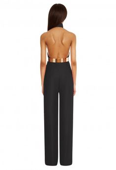 Hero Backless Jumpsuit - Black