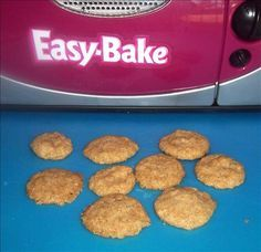 Easy Bake Oven Butter Cookies from Food.com:   Recipes for use in the Easy Bake Oven.