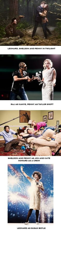 <3 Big Bang Theory The Susan Boyle one about made me laugh out loud.