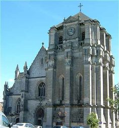 Diana and I were here for Easter Sunday 1988 - Notre-Dame-de-Mortagne-au-Perche, France – ancestor baptized here in 1600s