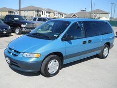 My second Dodge Caravan -- an Island Teal 1997 model. Pasadena Texas, Chrysler Voyager, Motor Company, Caravan, Used Cars, Over The Years, Dodge, Teal, Island