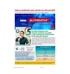 Jornal Alternativa News - edição de fevereiro de 2017
