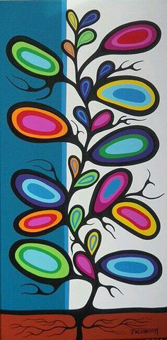 Mark Anthony Jacobson (Ojibwe) — Protecting the Legacy of Norval Morrisseau (Anishinabe) Inuit Kunst, Arte Inuit, Inuit Art, Native Art, Native American Art, Kunst Der Aborigines, Woodland Art, School Art Projects, Canadian Art