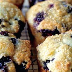 Perfect Blueberry Muffins recipe from the Smitten Kitchen Every Day 21 Day Fix, Best Blueberry Muffins, Blue Berry Muffins, Smitten Kitchen Blueberry Muffins, Blueberry Clafoutis, Almond Muffins, Muffin Recipes, Breakfast Recipes, Breakfast Muffins