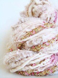 Hand Spun Art Yarn - UTKARSHA by Yarnmantra, via Flickr: