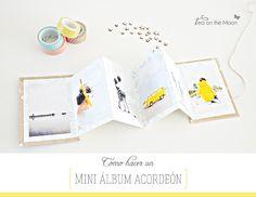 Tutorial: Mini álbum acordeón + {Anna Moliner}