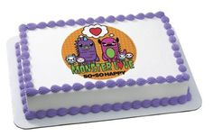 So So Happy Monster Love Edible Image Frosting Sheet Cake Topper Decoration -- Tried it! Love it! Click the image. : baking decorations