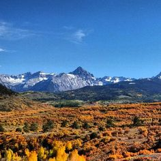 A visit to Telluride in the fall just got added to my bucket list