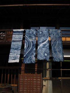 Shibori. Japanese Textile Workshops  日本のテキスタイル ワークショップ: Mini and the Viking