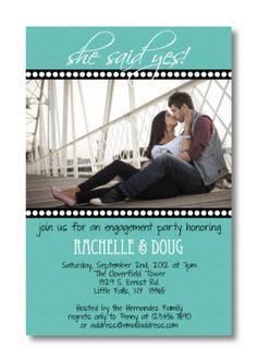 Engagement Invitation... wording ideas