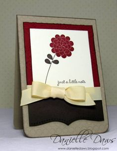 Apple Blossoms Swap by ddaws - Cards and Paper Crafts at Splitcoaststampers