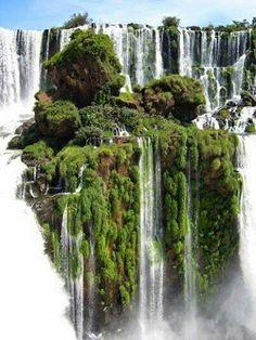 Cataratas Iguazu  Brasil  Argentina