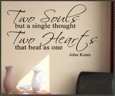 John Keats #heart #soul #love