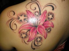 My tattoo, flower