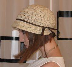 Flapper Hat ☺ Free Crochet Pattern ☺