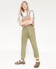 ZARA - WOMAN - CROPPED TROUSERS