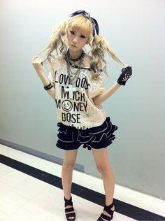 rokku gyaru fashion <3