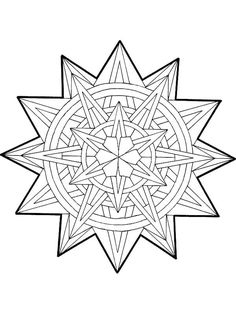 mandala christmas 14 coloring pages printable and coloring book to print for free. Find more coloring pages online for kids and adults of mandala christmas 14 coloring pages to print. Geometric Coloring Pages, Pattern Coloring Pages, Cool Coloring Pages, Mandala Coloring Pages, Christmas Coloring Pages, Coloring Pages To Print, Free Printable Coloring Pages, Adult Coloring Pages, Coloring Sheets