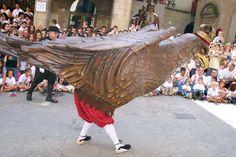 L'Àliga, a la Festa Major de Solsona (setembre)
